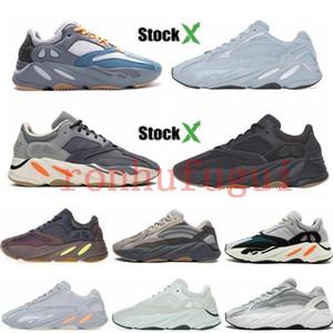 2020 Sneakers West New kanye 700 v1 v2 reflexivo 700s 3M malva azul esverdeado azul do hospital ímã Inércia carbono azul Vanta correndo shoes13c4 #