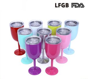 10oz. High Quality Stainless Steel Goblet High-End Red Wine Glass Home Bar Drinking Glass Cup beer mug Beer Cup high quality wine mug