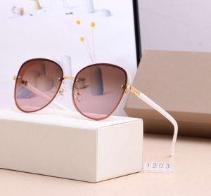 Женщин летние солнцезащитные очки пляж солнцезащитные очки Женщина Adumbral Goggle Очки UV400 1203 5 Цвет высокого качества с коробкой