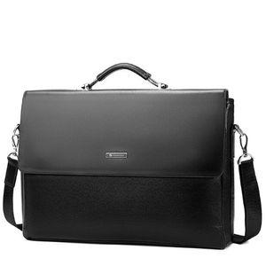 Designer-Men Sacs Porte-documents d'affaires de luxe Messenger Sacs à main Homme Sac pour ordinateur portable bureau noir brun Sacs à main en cuir pour homme Porte-documents