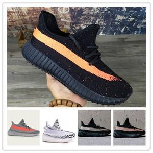 2019 Statik Susam Tereyağı 35o v2 Yarı Dondurulmuş Sarı Beluga 2.0 turuncu Zebra Siyah Kırmızı Kanye West Hava Koşu Ayakkabıları erke ...