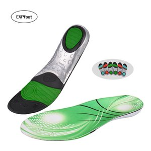 EXPfoot Premium Arch Support Insoles Forefoot Absorbs Shock Sports Insoles men and Women Outdoor Climbing Basketball shoes 25