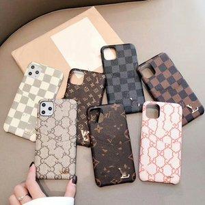 iPhone X XS Max 7 7plus Deri Kart Cep Telefonu Kılıfları Lüks Tasarımcı Telefon Kılıfı iPhone 11 Pro Max 8 8plus