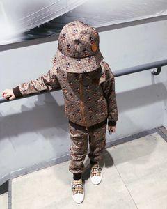 Hipping gratuit enfants nouveaux automne de la mode printemps Survêtements bébé garçons filles costumes de vêtements à manches longues pour le printemps