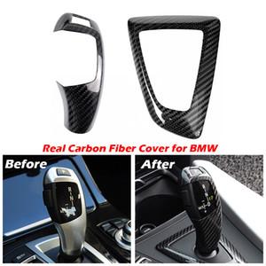 Углеродное волокно Ручка переключения передач и панель для BMW 1 2 3 4 серии F20 F21 F22 F23 F30 F34 F35 F36 F10 F11 F07 F18 F25 F26 F15 F16 F01 I8