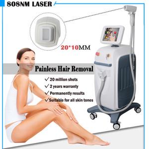 Dikey 808nm diyot lazer epilasyon makinesi pwemanent saç dökülmesi ekipmanları Soprano lazer epilasyon 3000W yüksek güç