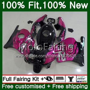 Injection +Tank For HONDA CBR 250RR CBR250RR 90 95 96 97 98 99 77MF15 MC22 Rose black CBR250 RR 1995 1996 1997 1998 1999 Fairing Bodywork