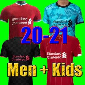 top qualité thaïlande 2019 2020 2021 maillots de football 19 20 21 kits chemise de football de football hommes et enfants taille uniforme