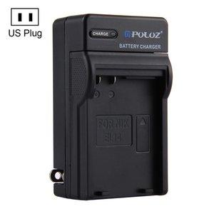 PULUZ US Stecker Ladegerät Für Nikon EN-EL14 Batterie