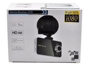 La cámara del coche DVR K6000 LCD Full HD LED Noche del registrador del tablero de instrumentos Visión Veicular dashcam Carcam de vídeo Registrator DVR coche