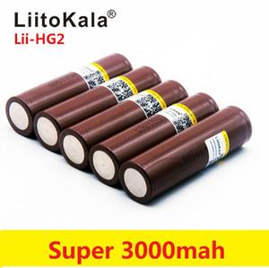 HG2 18650 3.7V 3000mAh elektronik el feneri Şarj edilebilir pil gücü yüksek deşarj, 30A büyük cari Yüksek Güç flashlig