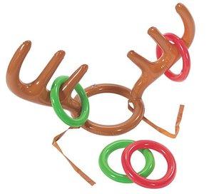 Elk Horn piscina inflável praia Brinquedos para crianças Moose Antlers Jogo bonito Forma Virola Deer Head Para Outdoor Games Decor Natal frete grátis