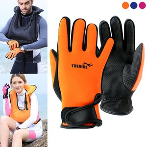 1Pair Wetsuit Neoprene Anti-slip Gloves 1.5mm for Men Women Dive Diving Surfing Swimming H7JP