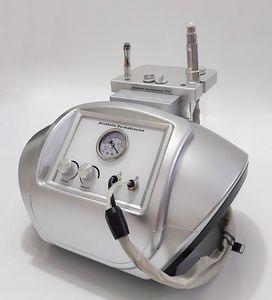المحمولة الماس كريستال آلة كريستال آلة مع مسحوق بلورات للبشرة قشر الوجه ديرما تقشير جلدي إعادة توجيه