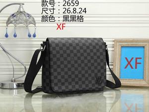 새로운 스타일 지 남성 서류 비즈니스 패키지는 고전적인 디자이너 노트북 가방 가죽 메신저 패키지 럭셔리 어깨에 매는 가방 M44000