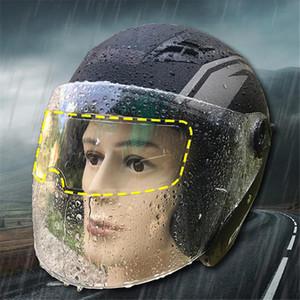 Moldura Completa Universal Capacete Anti-fog remendo Capacetes Lens Anti-fog Visor de longa duração do capacete da motocicleta Acessórios