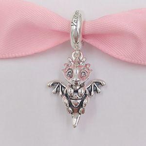 Autêntica 925 libras esterlinas grânulos você está dragão mágico Dangle encanto encantos único estilo europeu jóia de Pandora pulseiras Colar 798337