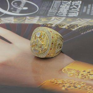 El anillo de campeonato al por mayor de 2019 Toronto, Canadá Baloncesto anillo MVP Leonard Lowry anillos de dedo Nueva