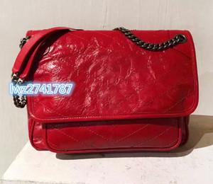 la mode de bonne qualité joli sac femmes de créateurs de la marque de l'épaule version Sac porté épaule Borsa un tracolla fait en cuir véritable