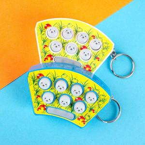 Mini Portatile whack-A-mole pocket voice palmare intrattenimento per il tempo libero giocare criceto macchina del gioco 84 off Adulto Bambino Giocattoli di puzzle