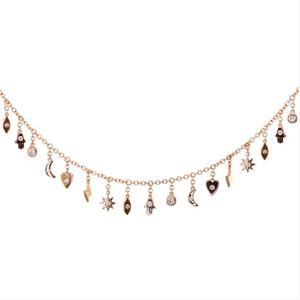 encanto da borla gargantilha colar alta qualilty 100% de prata esterlina 925 sorte encantos bonito hamsa mão olho colares Declaração de mulheres lindas