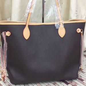 Nova moda feminina bolsas senhoras designer de sacos compostas tote ombro saco de embreagem senhora feminina bolsa carteira tamanho MM