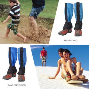 Adulte Enfant Legging imperméable neige Boot chaussures Guêtres Leg Cover Pour extérieur Sport Chasse Randonnée ski Manchettes jambe