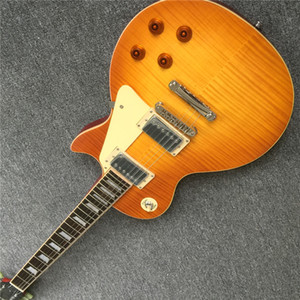 Custom Shop Best Price Custom Shop 59 Paul Vos Chibson Electric Guitar Sunrise Kostenloser Versand mit Hardcase Guitars Guitarra