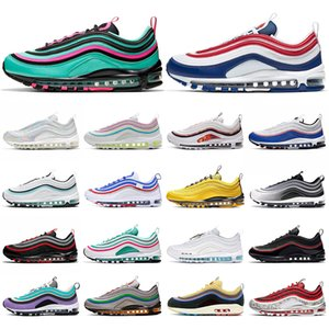 stock x nike air max 97 airmax sean wotherspoon chaussures de course hommes femmes Chaussures hommes baskets Sports Outdoor Sneakers