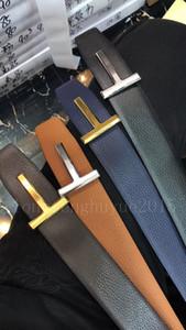 2019 correas de los hombres Ropa Cinturones Accesorios para hombres de negocios para hombre de la hebilla de la manera de las correas de cuero al por mayor de F-26