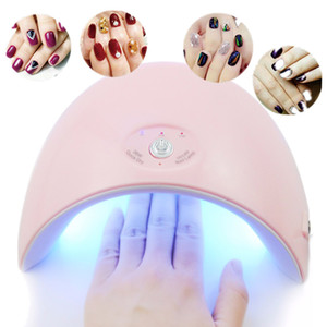 36W UV Lámpara Led Lámpara 12pcs LED Nail Dryer Nail Gel Polish Manicure Acrylic Curing Light Nail Art Tools Carga USB Bombilla inteligente