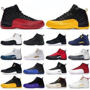 2020 nike air jordan retro homens do basquetebol sapatos jumpman x 12 12s jogo real game gripe Playoff triplo preto branco Ginásio vermelho dos homens atléticos esportes tênis