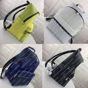 Designer de luxo Backpack Genuine couro revestido Casual saco Colégio monograma Zippy Bolsa lazer Viagens Purse alta Qaulity Top Marca