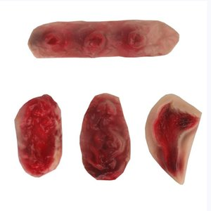 Halloween Simulation Scars Latex Halloween Dress Up Props DIY Festival Party Decorations For Halloween Costume Cosplay Fake Scar