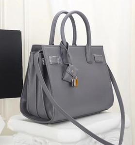 Donne Retro Borsa Organo 2019 Classic Luxury Vera Pelle spallacci Designer Handbag Borse Messenger Crossbody Borse con chiusura a chiave