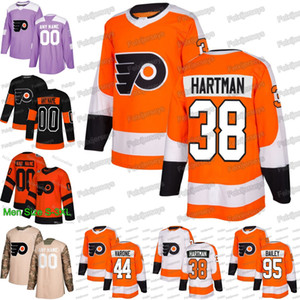 38 Ryan Hartman Philadelphia Flyer 33 Cam Talbot von Phil Varone Justin Bailey von Phil Girone Claude Giroux Carter von James van Riemsdyk