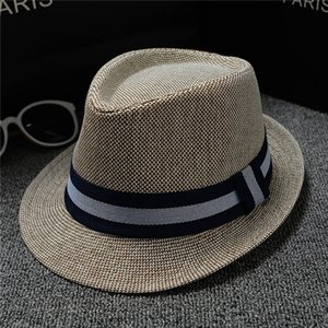 2020.High quality cotton and linen Panama hats for men and women couple jazz hats British sun hat womans hat Sun hat Baseball cap524651