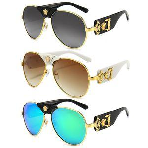Fashion Brand Sunglasses Eyewear Sun Glasses Designer Mens Womens Metal Frame Driving Travel Glasses Cover Face Sunglasses