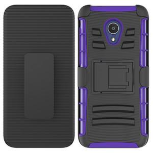 Phone case for Alcatel Tetra 5041  Revvl 2 Clip Case Kickstand Cool Combo Holster Belt Clip Protective Defender Phone Cover Oppbag