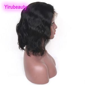 Brezilyalı Virgin Saç Bob Peruk 13X4 Dantel Açık Peruk Bob İnsan Saç Vücut Dalga Stili 10 -16 inç Yeni Ürünler