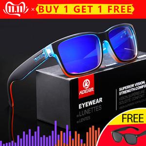 KDEAM Revamp dello sport degli uomini occhiali da sole polarizzati KDEAM scandalosamente Colori Elmore Occhiali da sole all'aperto Style Sunglass con la scatola XH1