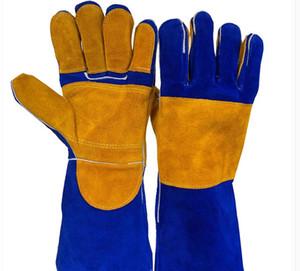 NOUVEAUX gants de soudage en cuir de 15 pouces - pour soudeurs TIG / Mig / Cheminée / Poêle / BBQ / Jardinage / Masque de soudage / Travail du bois