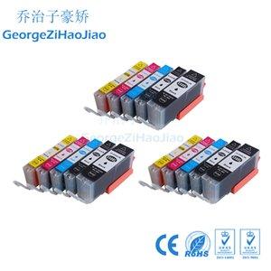 ZH 15 Mürekkep Kartuşları 550XL 551XL Canon PGI550 CLI551 için Uyumlu iP7250 MG5450 MG6350 MG6450 MG7150 MX925 yazıcı