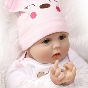 40cm baby doll mini cute interactive simulation rebirth baby doll to send children's birthday Christmas gifts