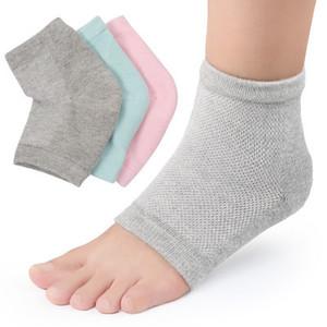 Sets para el cuidado de los pies 2019 Calcetines ventilados de gel hidratante Tacones para el día y la noche Los pies abiertos para el cuidado de los pies fijan el mejor tratamiento para la piel seca y agrietada