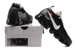 Nike Air VaporMax FK2018 Support Boost Herrenschuhe Schwarz Weiß Blau GS Primeknit Grau Core Sneakers Sportschuh