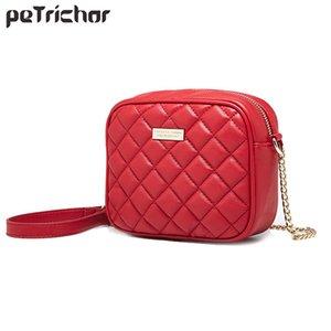 Petrichor 2019 Hot Flap Damen Luxus Pu Umhängetasche Mode Frauen Crossbody Messenger Bags Kette Mini Handtasche Sac Main Femme Y19061803