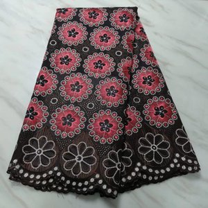 Madison High Quality Dry Cotton Lace Trim Swiss Voile Lace en Suiza Nuevo estilo bordado tela de encaje africano para la boda
