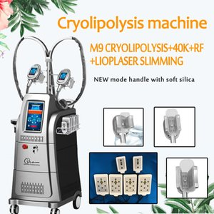 Cryolipolysis Máquina, Cryolipolysis adelgazar máquina vertical con 4 asas crioterapia belleza Máquinas Equipos