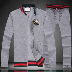 Mode LuxuxMens Designer Tracksuits Sweatshirts Anzüge Sport Anzug Herren Jacken Mäntel Männer Frauen Medusa Sportanzug SetM-4XL
